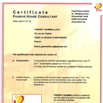 Certification Passivhaus Institut