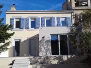 Rénovation et certification passive maison Marseille (Bouches du Rhône)
