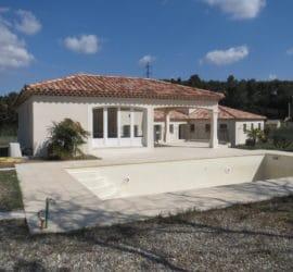 Rénovation maison Simiane Collongue (Bouches du Rhône)